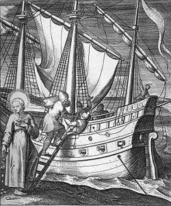 Ignatius travels to Holy Land